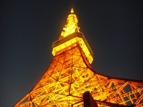 To show the beauty of Tokyo tower at night